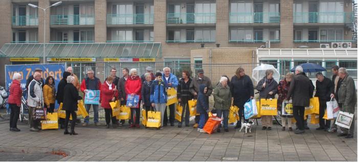 Initiatiefgroep Kwintsheul in actie voor nieuwe supermarkt