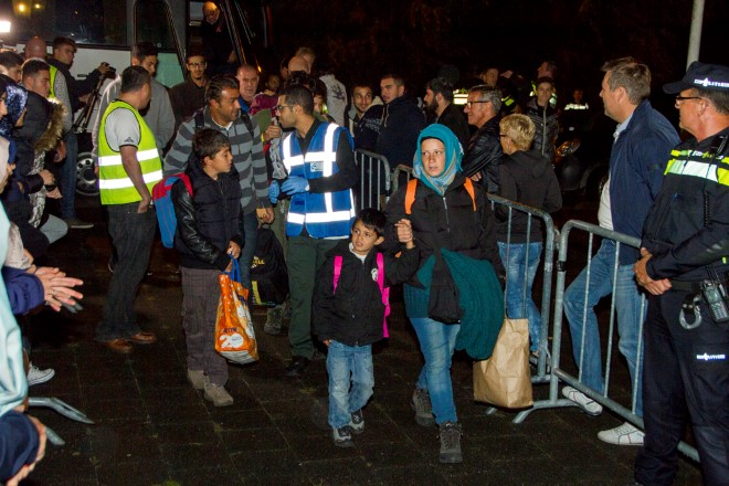 Stand van zaken asielzoekers-instroom Nederland