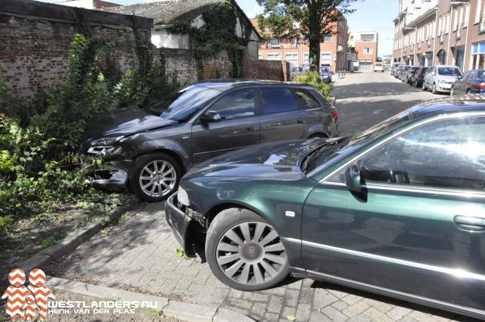 Ongeluk op de Molenstraat na onwelwording bestuurder