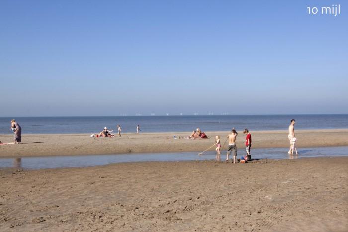 Geplande windparken op zee in beeld