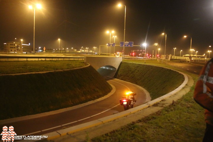 Collegevragen inzake overtollig water in tunnel Westerlee