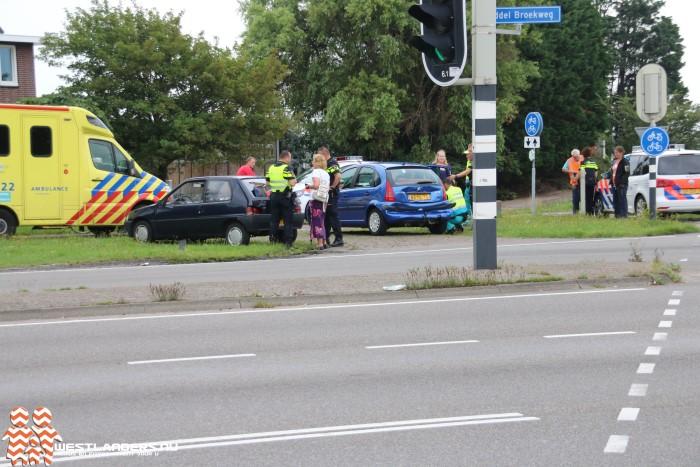 Ongeluk vlak voor heropening Middel Broekweg