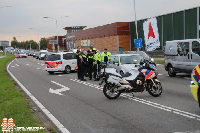 File op de Nieuweweg na arrestatie