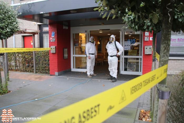 De Leuningjes gesloten vanwege asbest