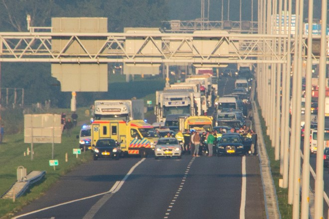 Verkeerschaos na dodelijk ongeval op de A20