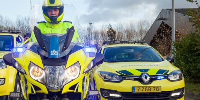 Blauw zwaailicht en sirene voor weginspecteurs Rijkswaterstaat