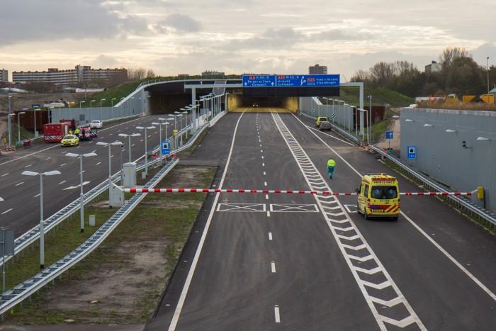 Laatste weekendafsluiting verlengde A4 Delft-Schiedam