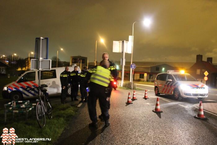 Automobilist gevlucht na ernstig ongeluk Woutersweg