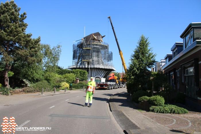 Nieuwe Wieken Korenmolen op 4 juni geplaatst
