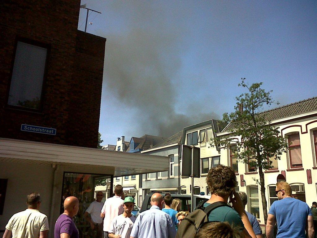 Brand in de Prins Hendrikstraat