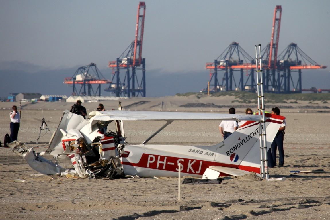 Inzittenden neergestort vliegtuigje gevonden