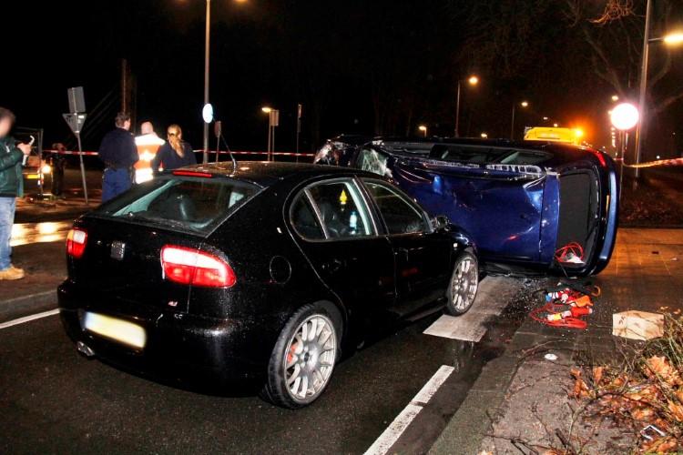 Ruud Lubbers betrokken bij ongeval