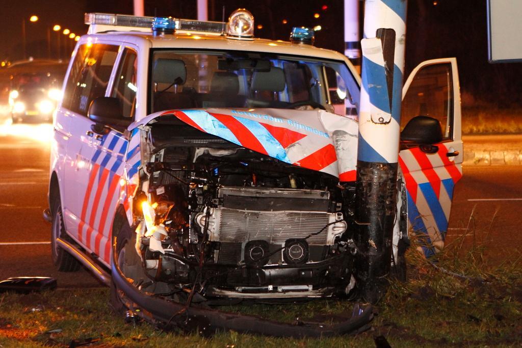 Verdere afname schademeldingen politievoertuigen