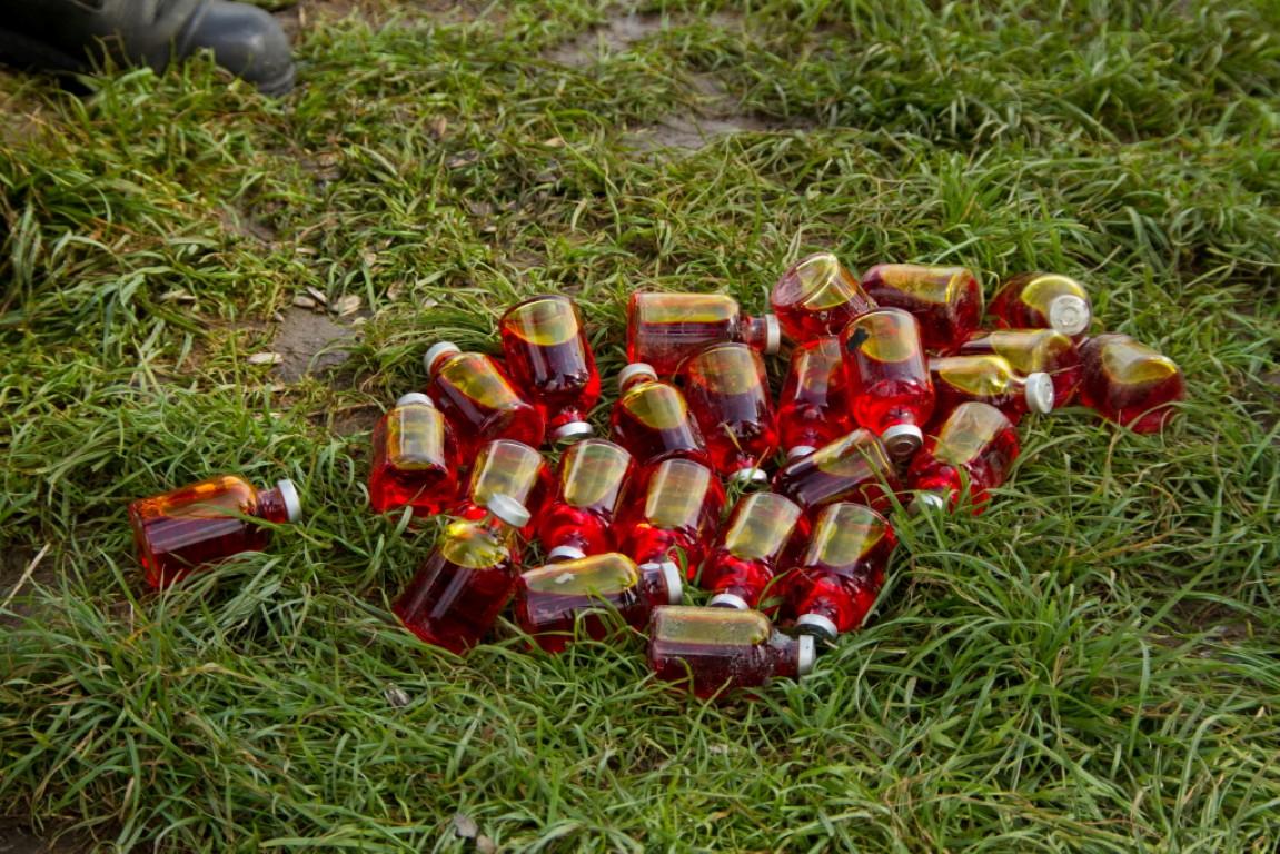 Weer onbekende flesjes aangetroffen