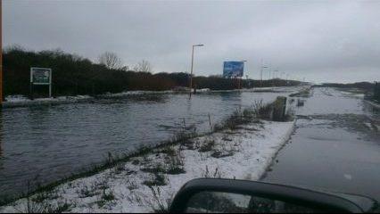 Aanpak wateroverlast Badweg