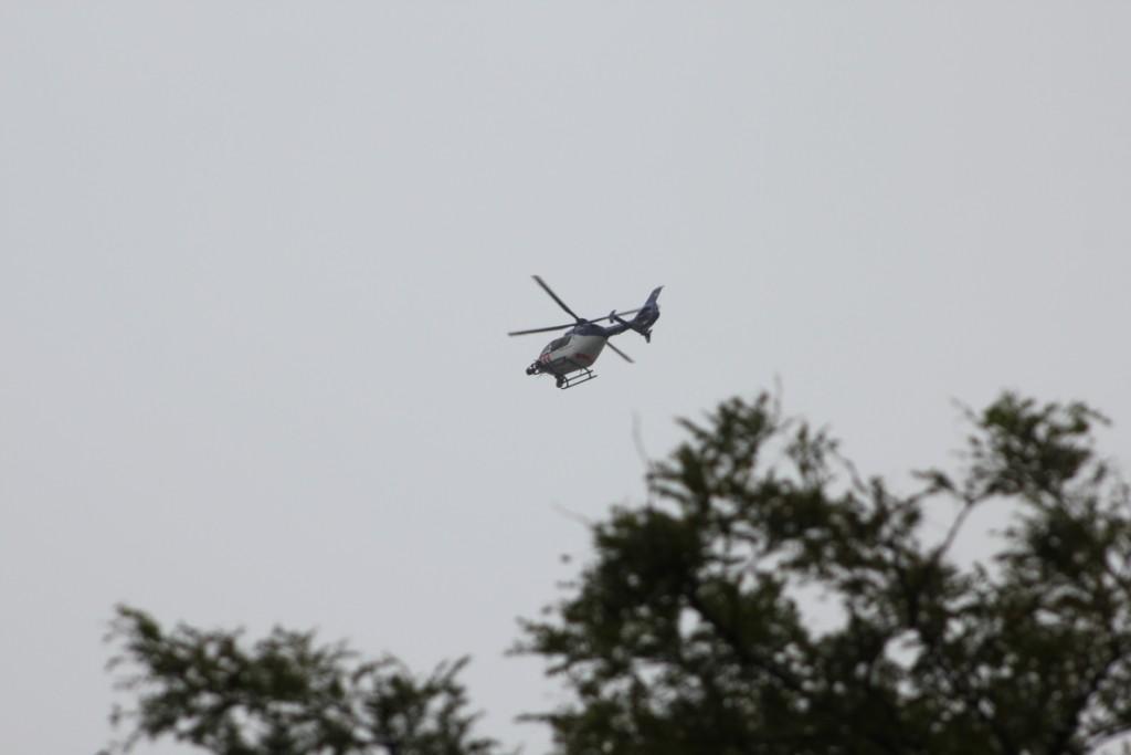 Helikopterinzet bij inbraak in boekhandel