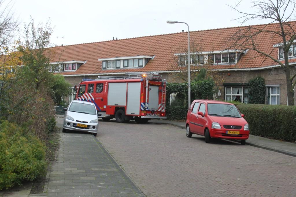 Binnenbrand in de Colmanstraat