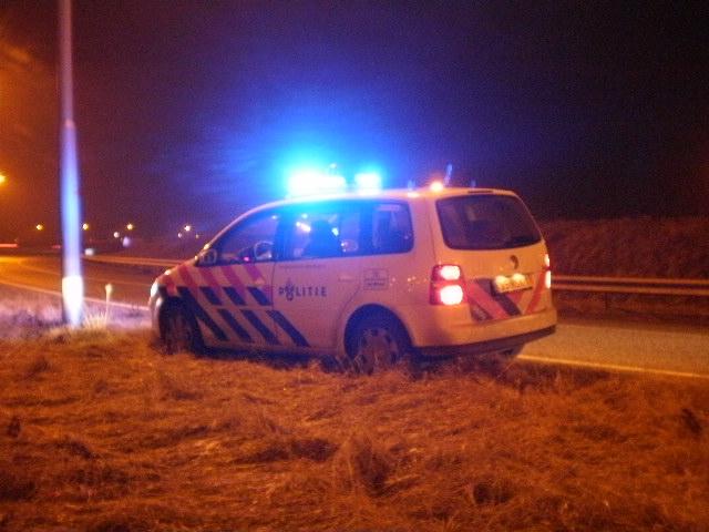 Bestuurder gaat na ongeval lopend naar huis